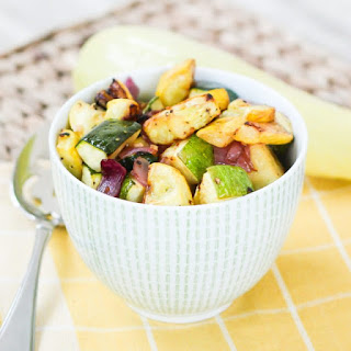 Roasted Summer Squash and Zucchini Recipe