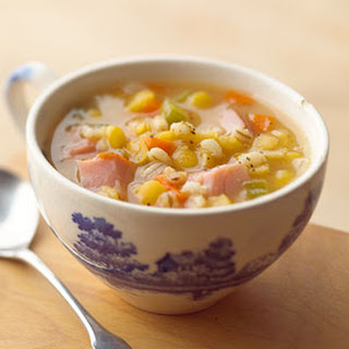 Split Pea Soup with Barley