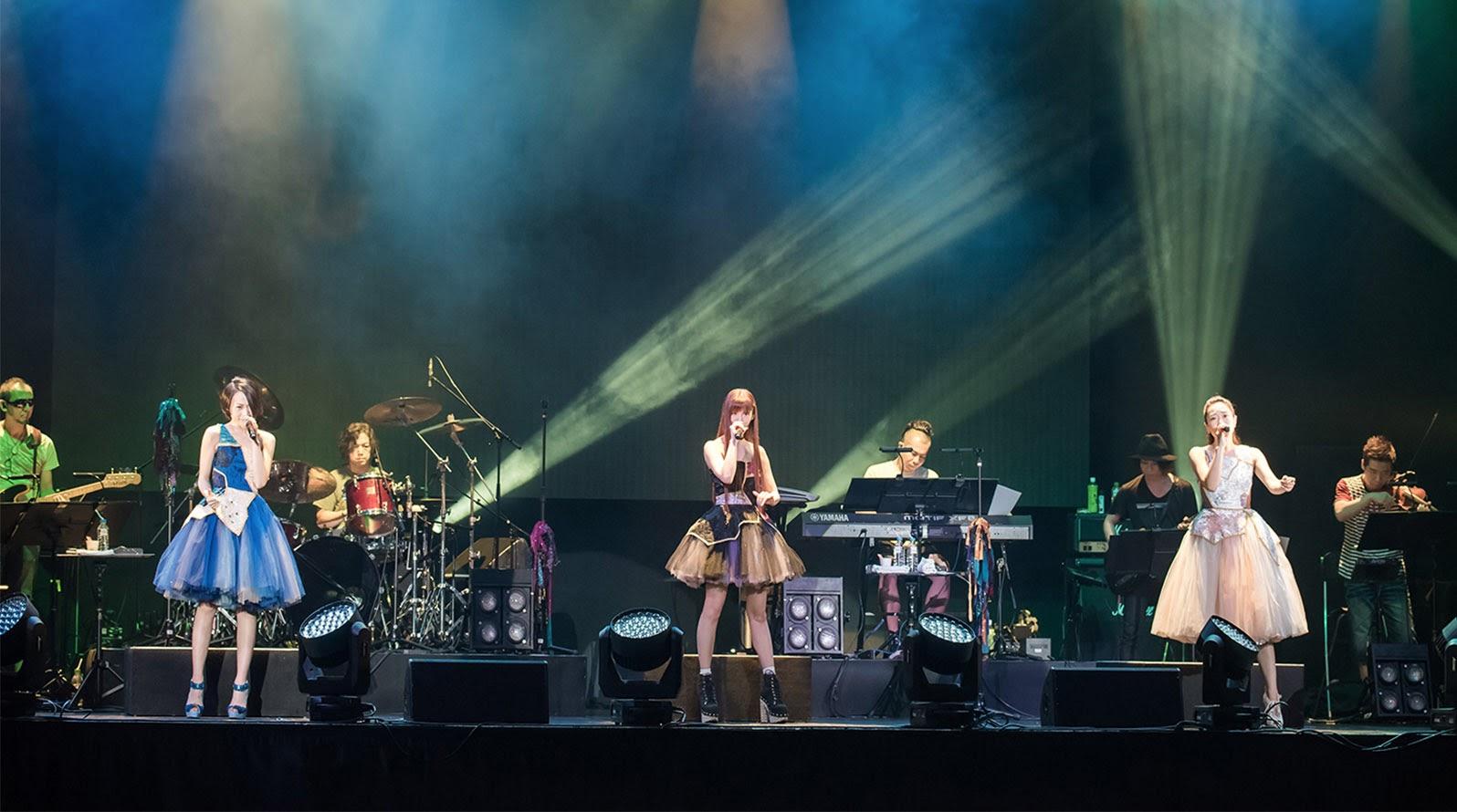 "【迷迷歌單】Kalafina ""9+one"" in Taiwan 第一日"