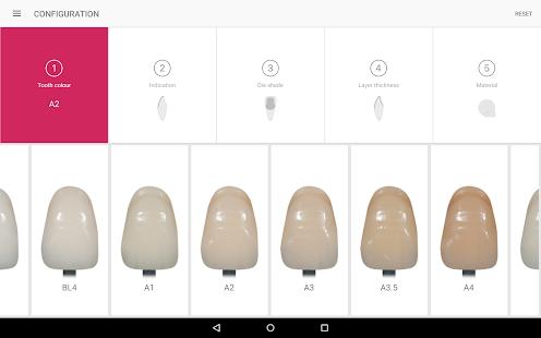IPS e.max Shade Navigation App - náhled