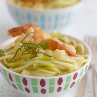 Creamy Prawn Pasta Bowls