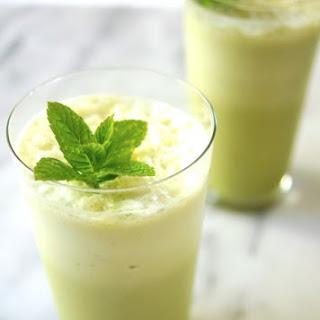 Iced Matcha Mint Tea Latte