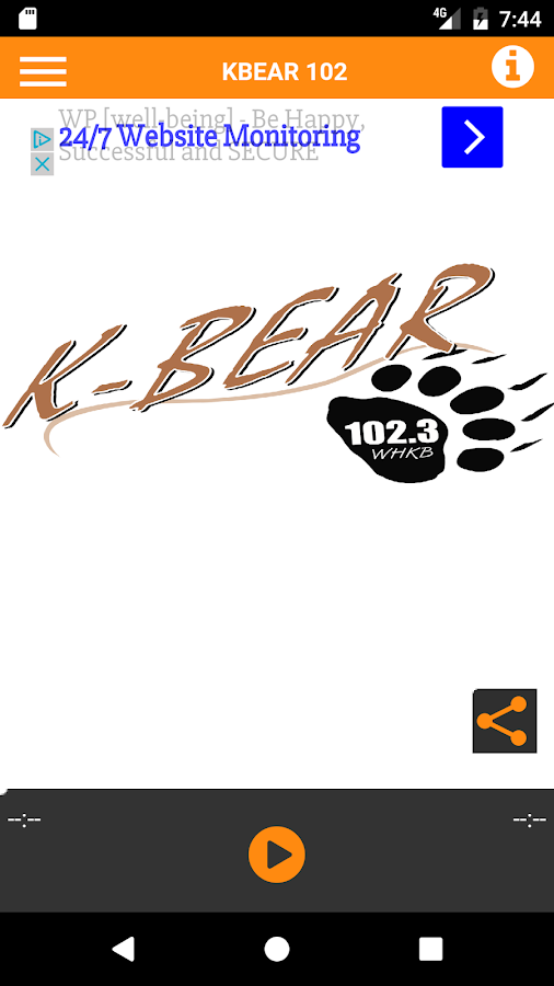 KBear 102 Stream- screenshot