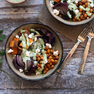 Roasted Winter Vegetable Protein Rice Bowl