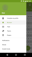 Screenshot of Fanscup: Football by the Fans