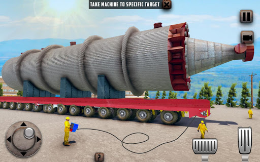 Oversized Load Cargo Truck Simulator 2019 apkpoly screenshots 6