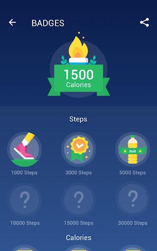 Step Counter - Pedometer Free & Calorie Counter screenshot 11