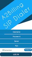 Screenshot of A2Billing SIP Dialer