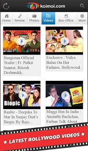 Bollywood News Reviews Videos - screenshot thumbnail