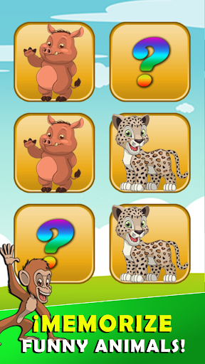 Memory game animals apktreat screenshots 2