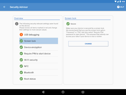 Sophos Mobile Security Screenshot