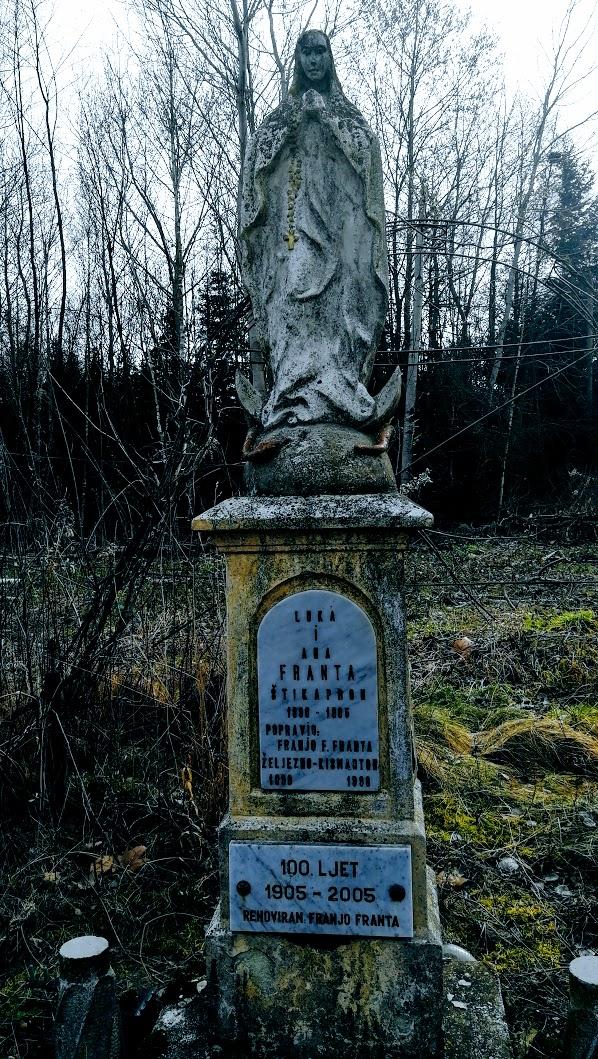 Olmód - Mária-szobor