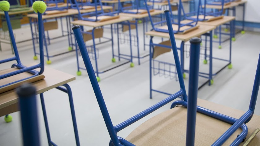 Andalucía tiene este curso 400 aulas menos que el anterior.