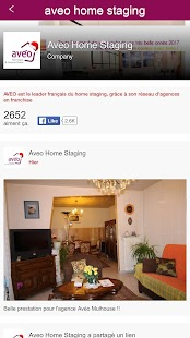 Aveo Home Staging – Vignette de la capture d'écran