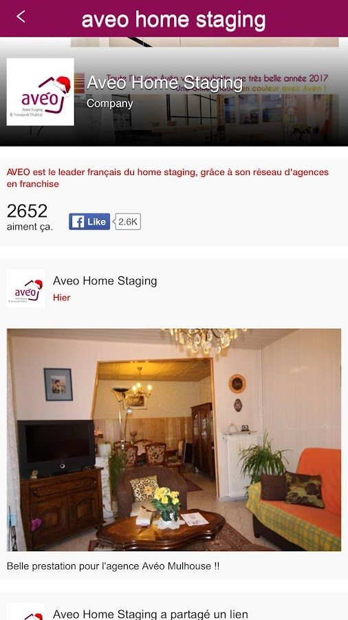 Aveo Home Staging – Capture d'écran