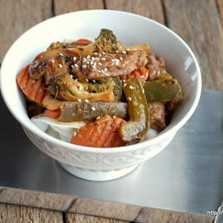 Szechuan Beef Stir Fry {Gluten-Free}