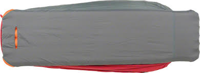 Big Agnes Encampment 15F Sleeping Bag: Synthetic, Red/Gray, Regular alternate image 1