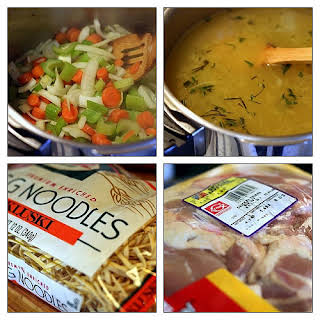 Weight Watchers Chicken Noodle Soup.