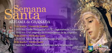 EVENEMENT : Semana Santa in Alhama de Granada 2018