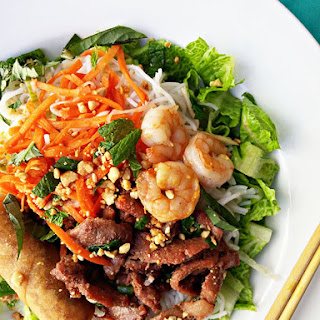 Vietnamese Lemongrass Pork And Vermicelli Salad