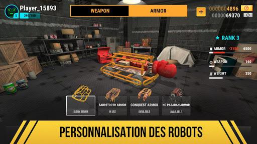 Robot Fighting 2 - Minibots  captures d'écran 2