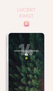 Lucent KWGT – Translucence Based Widgets Paid 3.3 Latest Mod APK Free Download 2