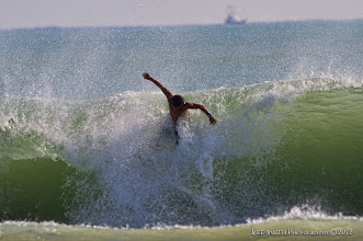 Photo: Surfing and having fun