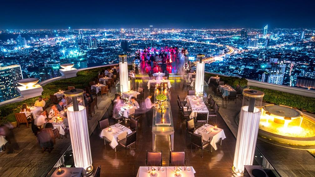 Le skybar du Lebua Hotel