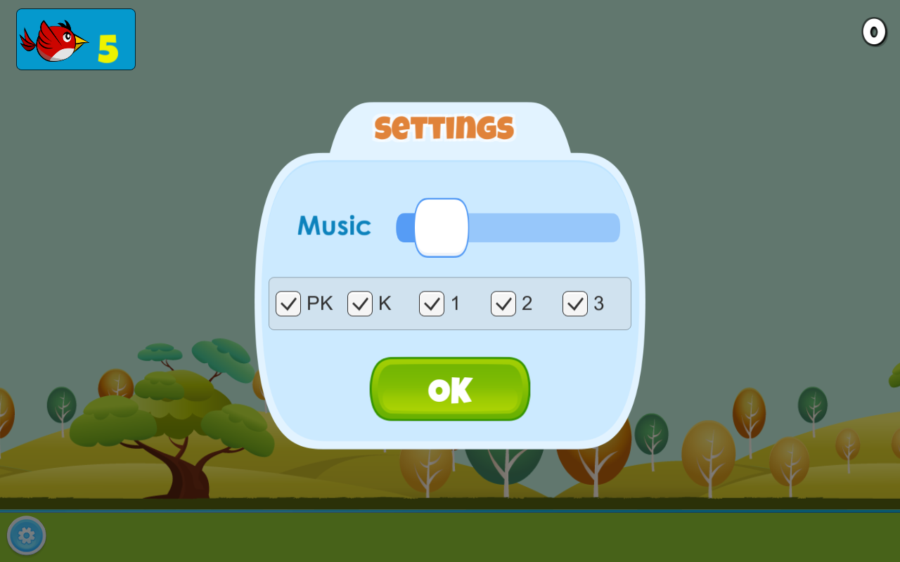 Sight Words Bird- screenshot