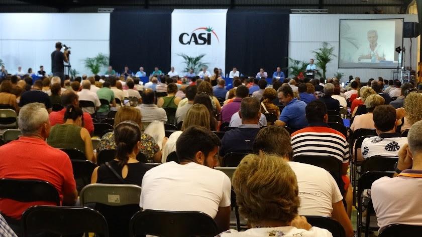 Una asamblea de la cooperativa agrícola CASI. (imagen de archivo).