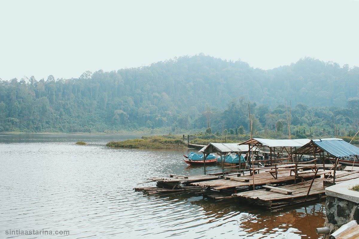 situ gunung sukabumi - danau situ gunung - curug sawer