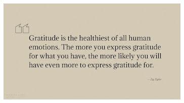 Express Gratitude - Presentation template