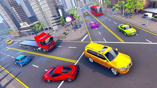 Prado Taxi Car Driving Simulator  screenshots 13