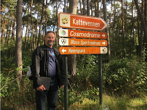 Photo: Canadian attendee Rob Drysdale @projmgr Walking to the Cosmodrome in Genk!