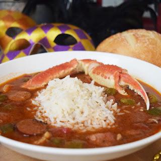Cajun Seafood Gumbo.
