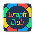 GraphClub - graph with stats icon