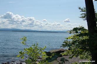Photo: Lake Champlain is beautiful from Knight Island State Park