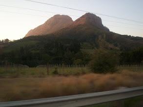 Photo: Going into Stellenbosch