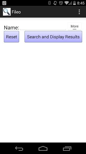 Fileo File Finder