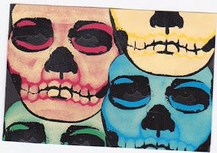 Photo: Wenchkin's Mail Art 366 - Day 122, card 122a