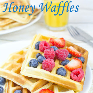 Anytime Gluten Free Honey Waffles