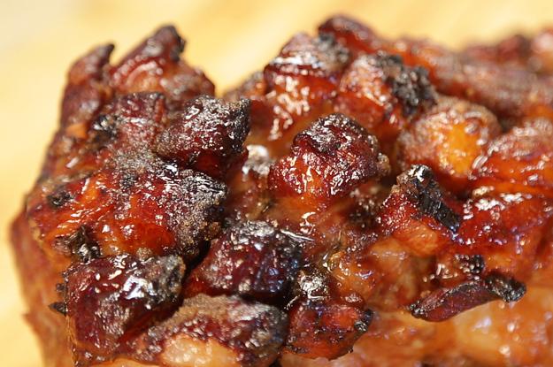 pulled pork slow roasted glazed pork shoulder barbecue glazed pork ...