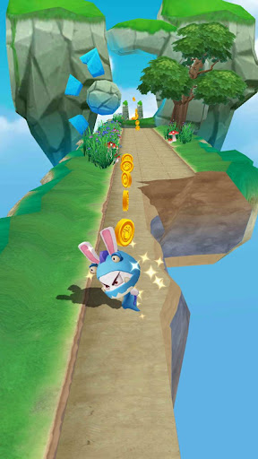 Ninja rabbit Rush - Fun Running Games  captures d'écran 4
