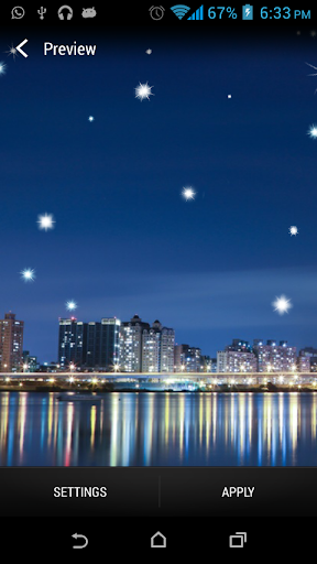 Skyline Star Livewallpaper