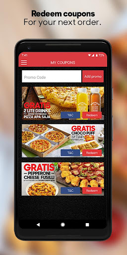 Pizza Hut Delivery Indonesia 2.0.3 screenshots 4