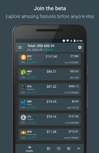 Bitsnapp – Track your Bitcoin and Crypto Portfolio for PC