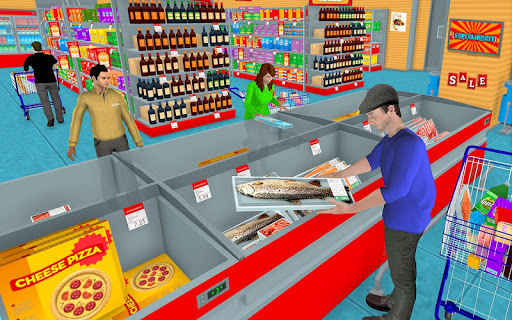 Supermarket Grocery Shopping Mall Family Game 1.5 screenshots 3