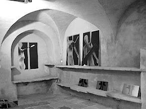 Photo: © Olivier Perrot Exposition  Chateau de St Colombe, l'été des arts 2004