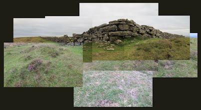 Photo: Wall next to Two Barrows