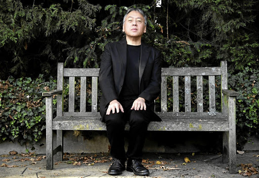 British Author Kazuo Ishiguro poses for the media outside his London home, after being announced as the winner of the Nobel Prize for Literature, on October 5 2017. Picture: REUTERS